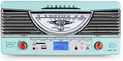 Classic Phono TT-31 Lagoon - Tocadiscos para equipo de audio, azul ...