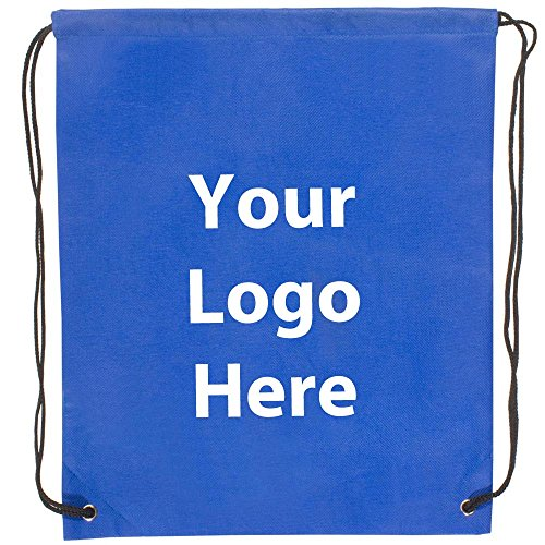 Econo String Backpack - 100 Quantity - $1.30 Each - Promotional Product/Bulk with Your Logo/Customized. Size: 14? W x 17? H. ()