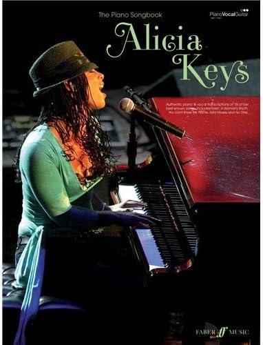 Alicia Keys: The Piano Songbook. Partituras para Piano, Voz y ...