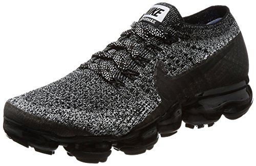 NIKE Women's Air Vapormax Flyknit Running Shoes Black / Black-white-racer Blue discount ebay l8up9Rk5b