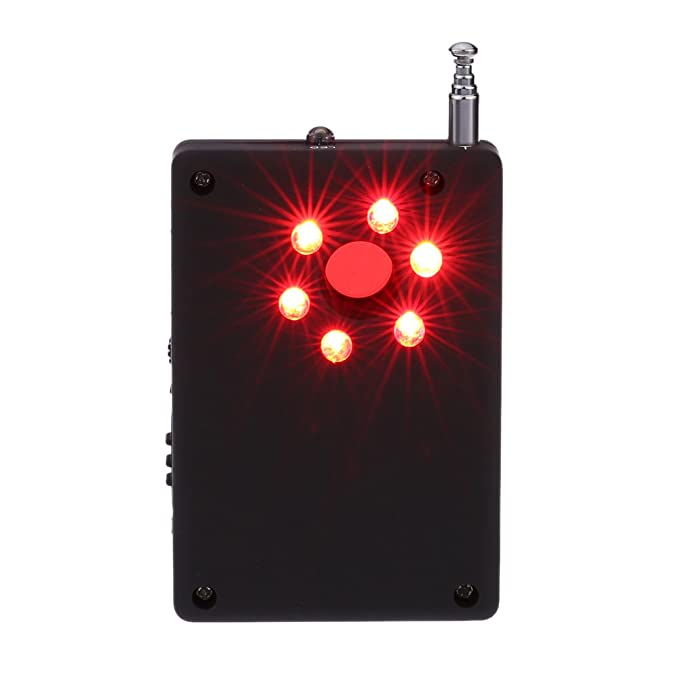 KKmoon Detector de radio de señal (inalámbrico, RF multifuncional, detección automática cámara - Trazador Finder, 1 mhz-6.5ghz, sensibilidad ajustable: ...