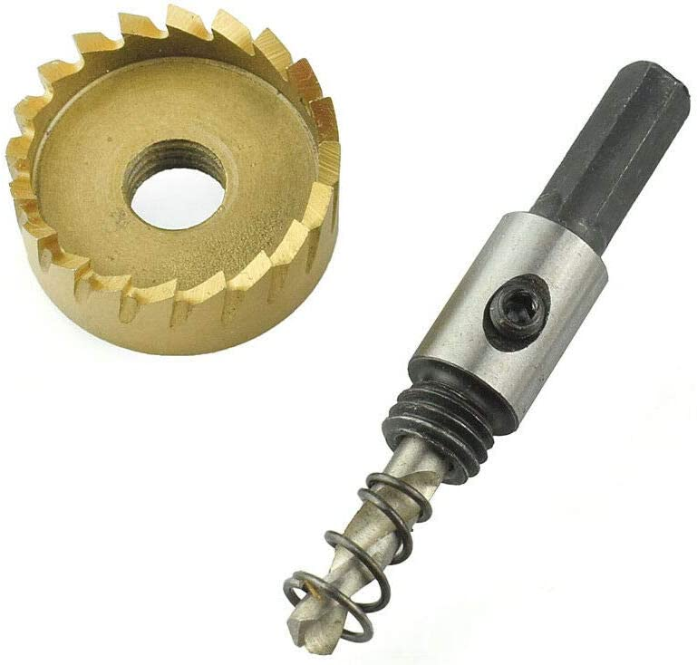 herramientas para cortar acero fibra de vidrio cobre hierro Juego de brocas para sierra de corona de acero inoxidable de 12 a 65 mm HSS de titanio aluminio acero inoxidable lat/ón