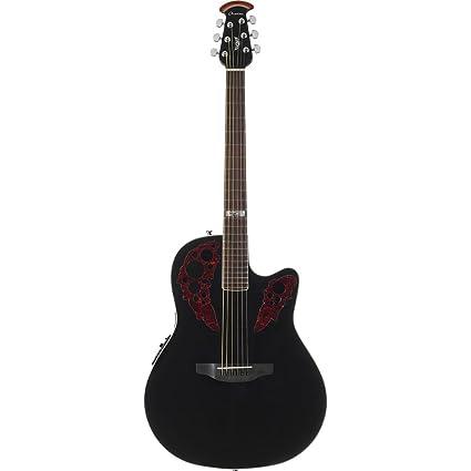 Ovation Kevin Cronin Celebrity Elite acústica guitarra eléctrica, Negro mid-depth: Amazon.es: Instrumentos musicales