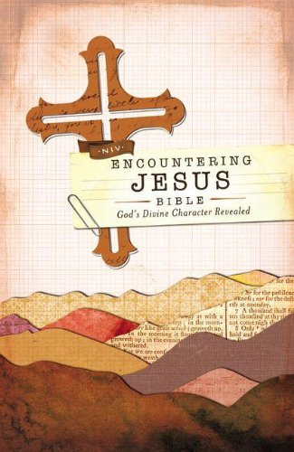 Download NIV, Encountering Jesus Bible, Hardcover (Encounter Bible Series): Jesus Revealed Throughout the Bible PDF