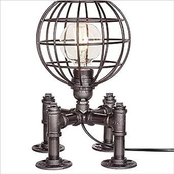 Steampunk Retro Industrie Einstellbare Fussball Lampe Land