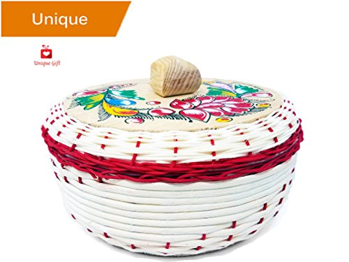 NEW Alondra's Imports (TM) Elegantly Handwoven, Fiesta Mexican Tortilla Warmer (Tortilla Holder - Tortilla Keeper - Tortillero Termico - Tortilleros Mexicanos Para Fiesta)  Unique Assorted Colors
