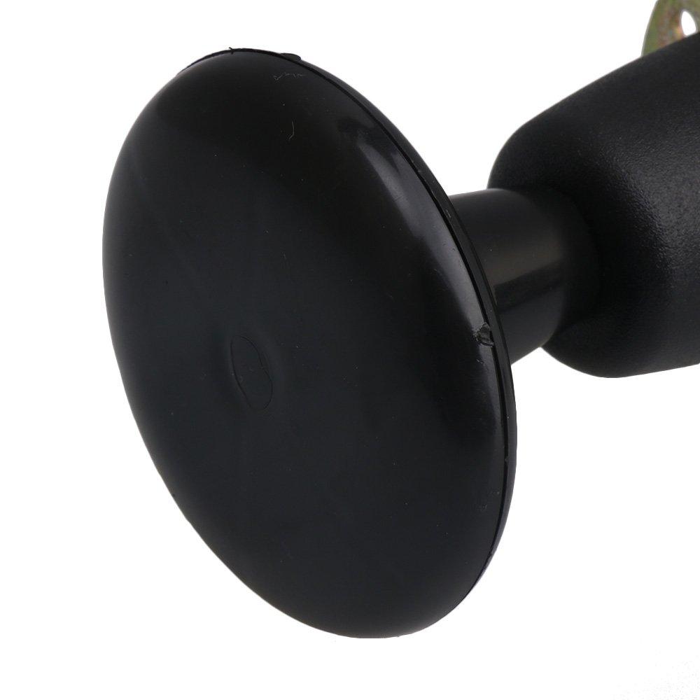 Bqlzr 12 X 7 3 Cm En Nylon Fer Noir Cadre De Lit Glide Pieds Pieds