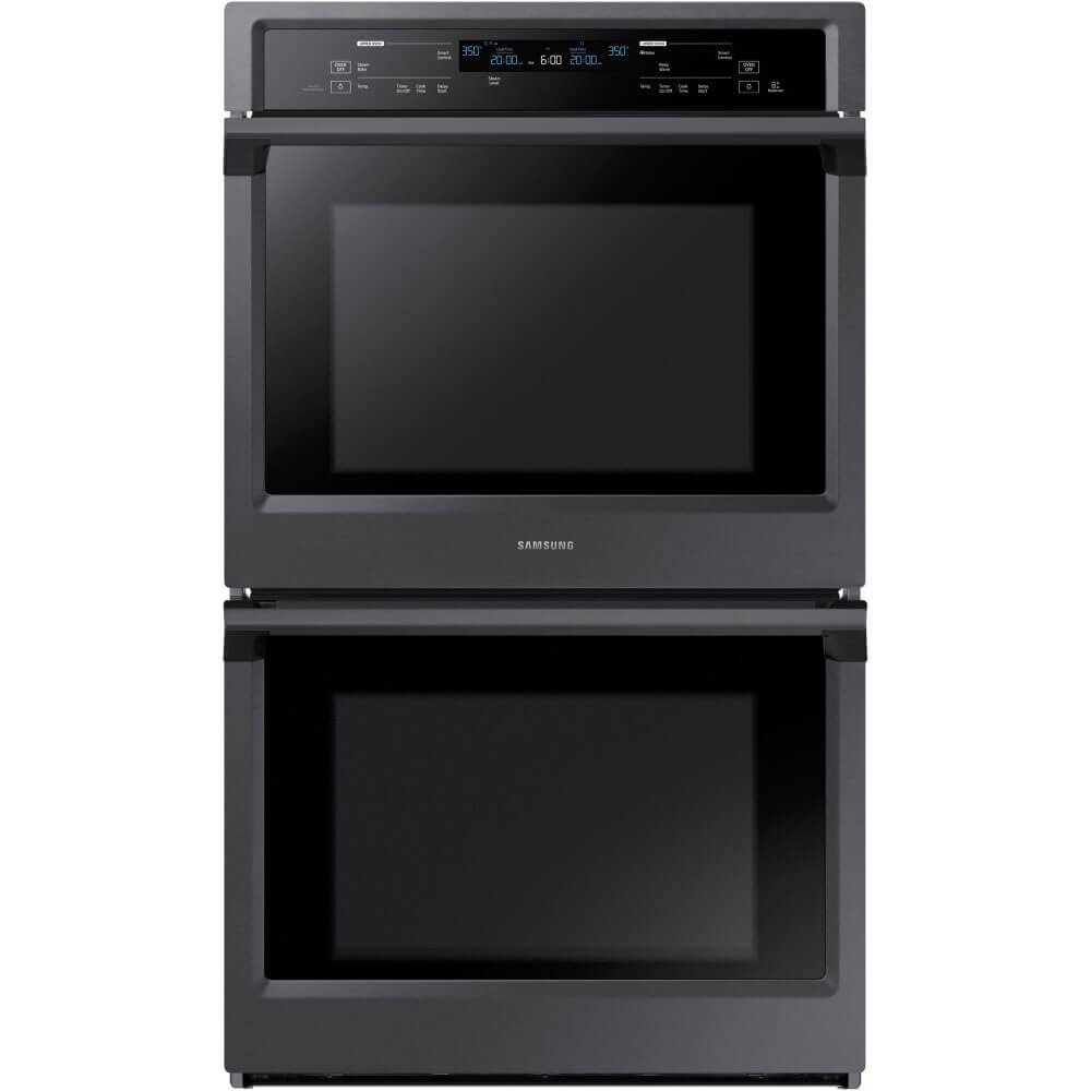 "Samsung Appliance NV51K6650DG 30"" 10.2 cu. ft. Total Capacity Electric Double Wall Oven with Top Broiler, in Black Stainless Steel"