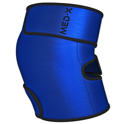 Knee Wrap Hot Cold Gel Sleeve For Runner Knee Support   Baker Cyst   Rheumatoid Arthritis Treatment   Osteoarthritis   Bursitis   And Patellar Tendinitis Pain