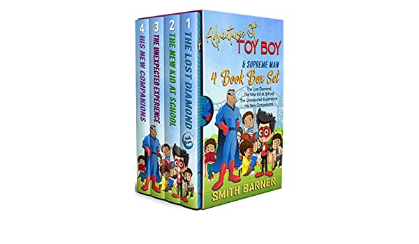 Adventures of Toy Boy and Supreme Man: 4 Book Box Set (English ...