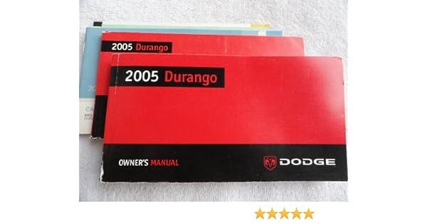 2005 dodge durango owners manual oem free shipping | ebay.