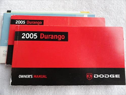 2005 dodge durango owners manual handbook user case | ebay.