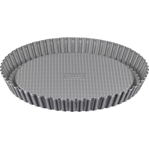 Kaiser Flan Pan, Stainless Steel Black, 28.5 x 28.5 x 3.3 cm