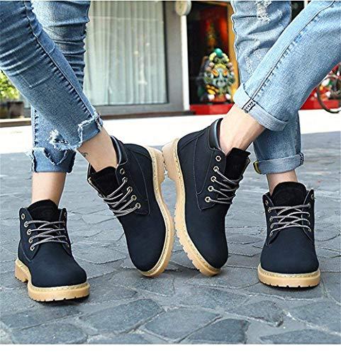 Deed Shoes Head Comfort Stivali Lace Big Stivaletti Pu Tondi Size Eu Casual 39 awaUrxOq