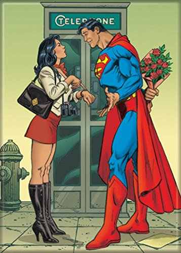 Ata-Boy DC Comics Superman Late for His Date with Lois Lane 2.5
