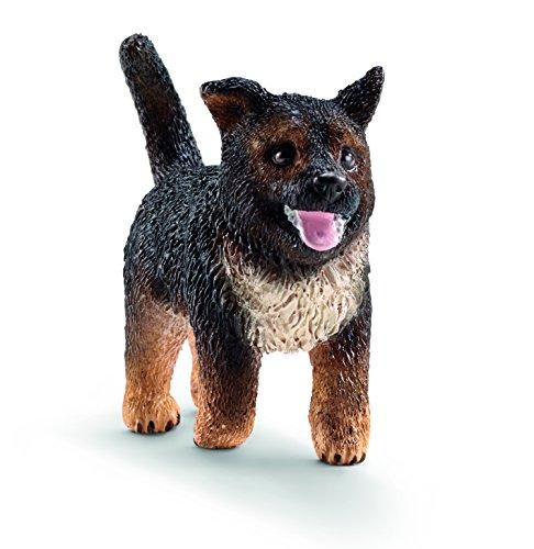 (Schleich German Shepherd, Puppy Toy Figure )