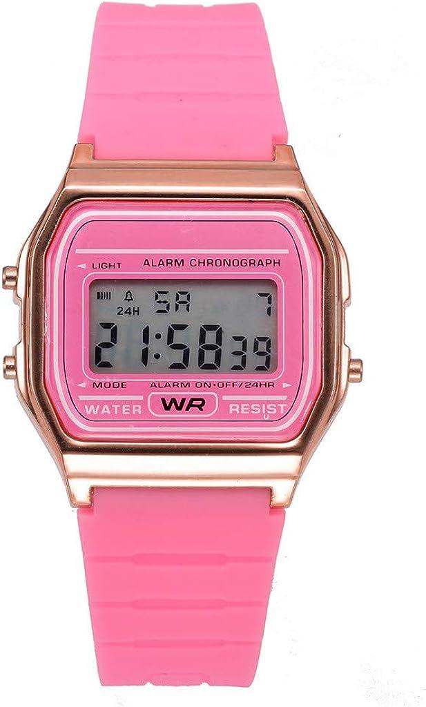 Uhren Damen Fghyh Männer und Frauen Paar Uhren Digitale wasserdichte elektronische Sportuhr Pk