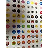EVERMARKET(TM) 300pcs home button sticker for iphone 4/4s/5 5S 5C ipad
