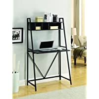 Coaster Home Furnishings 800908 Computer Desk, Black/Black