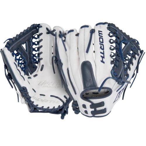 Worth Liberty Advanced Series Fastpitch Softball Glove (Six Finger Web)...