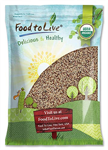 Organic Tri color Quinoa Pounds Sproutable product image