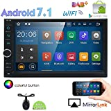 Eincar Standard Double Din Android 7.1 In-Dash Car Stereo Radio 32GB+ 2GB Octa-Core