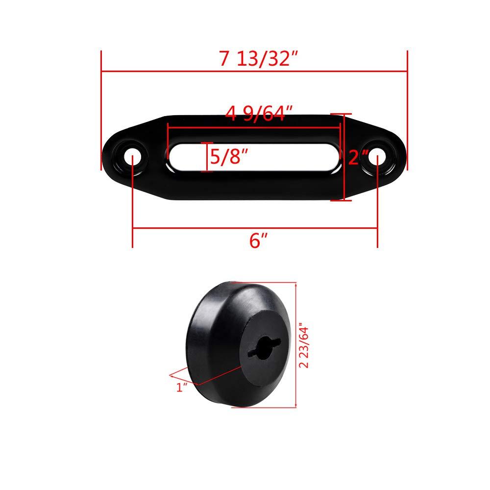 Amazon.com: Astra Depot – Tope de cuerda de goma negra para ...