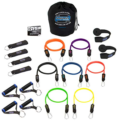 Bodylastics Stackable  MAX XT Strong Man Resistance Bands Se