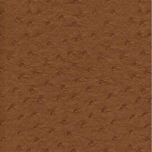 "54"" Wide Upholstery Faux Leather Vinyl Fabric Ostrich Buckskin - by The Yard"