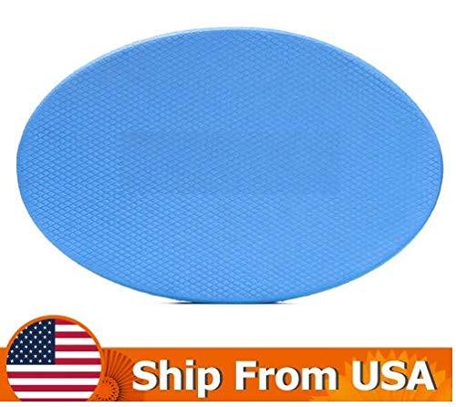 Amazon.com : WARRANTER Yoga Knee Pad 2cm Thick Oval TPE Yoga ...