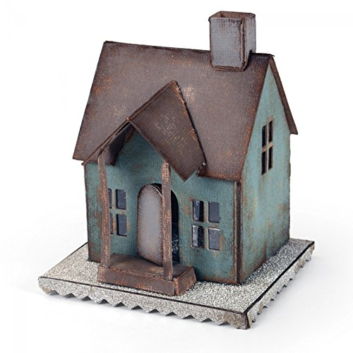 Sizzix 660992 Bigz Village Dwelling Die by Tim Holtz, X-Large by Sizzix