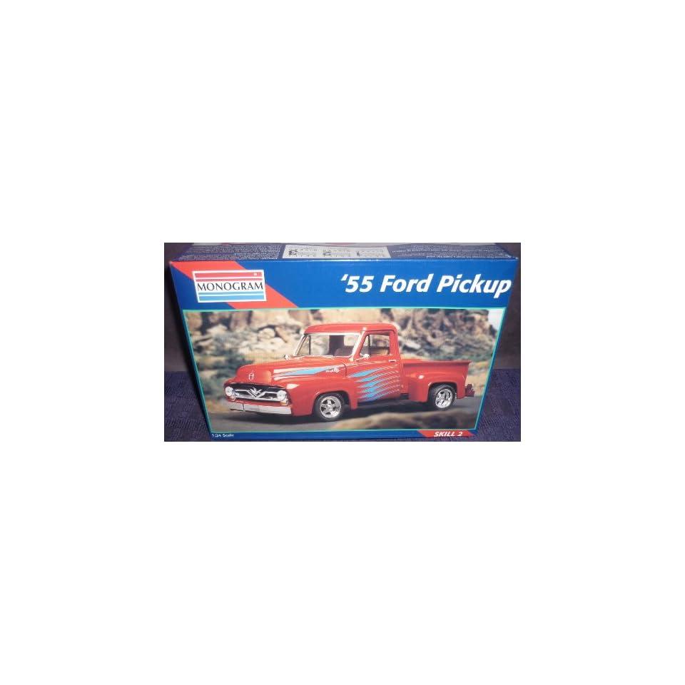 Monogram 124 55 Ford Pickup Car Model Kit