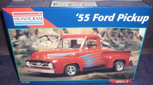 Monogram 1:24 '55 Ford Pickup Car Model Kit