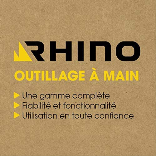 Rhino 2892 Cl/é Tubulaire et /à Pipe 14mm NC 14 mm Chrome Vanadium