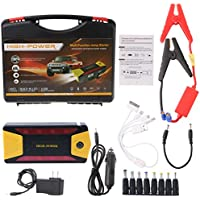 yournameI Car Emergency Power Charger, 82800mAh 12V Car Jump Starter Pack Portable Charger Booster Power Bank Battery