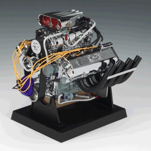 Supercharged 427 Ford Top Fuel Dragster 1/6 Replica Engine By Liberty Classics -