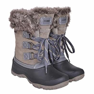 Amazon.com | Khombu Women's The Slope Winter Snow Boots 9