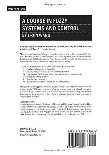 a course in fuzzy systems and control amazon co uk li xin wang rh amazon co uk Lan Li Wang Li Wang Utah