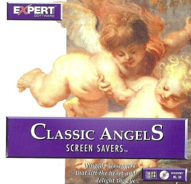Calendar Screensaver - Classic Angels Screen Savers w/ Music (36 Angelic Painting By Famous Artist)