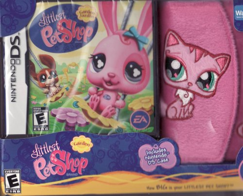 Littlest Pet Shop Winter Hiver for Nintendo DS LIMITED EDITION Set Includes: Game & Fuzzy DS Case