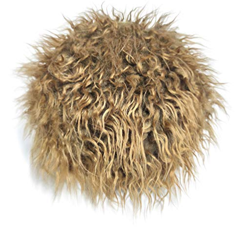 Men\'s Novelty Flair Hair Visors Spiked Funny Golf Hats Guy Fieri Peaked Fake Wig Adjustable Baseball Caps Birthday Gift