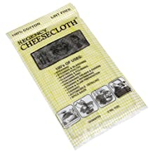 Regency Wraps Cheesecloth for Basting Straining Steaming and Cleaning 100-Percent Cotton Chef Grade, 2 Square Yards