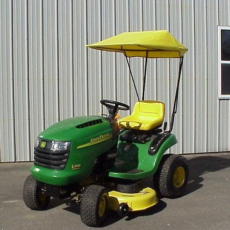 Original Tractor Cab Sunshade Fits John Deere D100, L100, 100, and LA100 Series Lawn Tractors