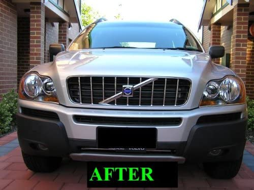 312 Motoring fits 2003-2006 Volvo XC90 XC 90 Chrome Grille Grill KIT 2004 2005 03 04 05 06