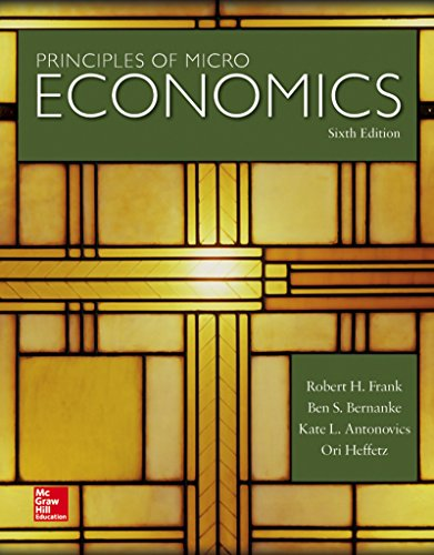 Principles of Microeconomics (Irwin Economics)
