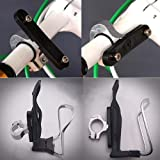 Bike Bicycle Clamp Water Bottle Cage Holder Handlebar Mount