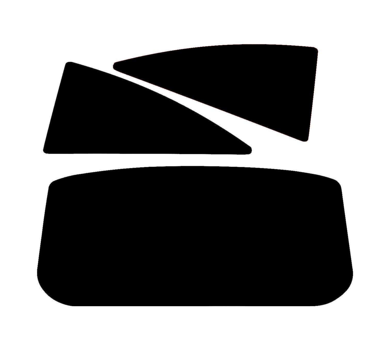 PSSC Pre Cut Rear Car Window Films - Vauxhall Corsa 3 Door 2007-2013 35% Medium Tint PSSC Window Film