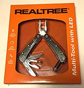 Realtree deluxe multi tool with LED