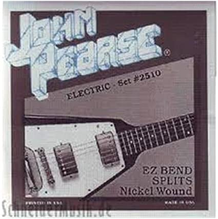 John Pearse 2510 EZ Bend Splits - Pure Nickel Wound: Amazon.es ...