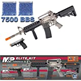 Smith & Wesson M&P Elite AEG 15 RIS Electric Rifle and M&P 40 Spring Airsoft Pistol
